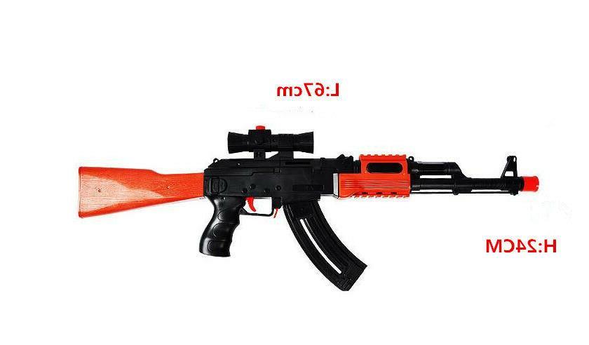 AK 47 Toy Gun 3Pcs 400Pcs Water Gun
