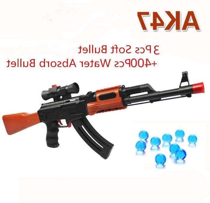 ak 47 toy gun 3pcs soft bullet
