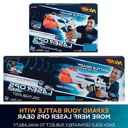Nerf E2281 Ops Pro Toy - Includes & 2 Light Sound - Health & Ammo Indicators