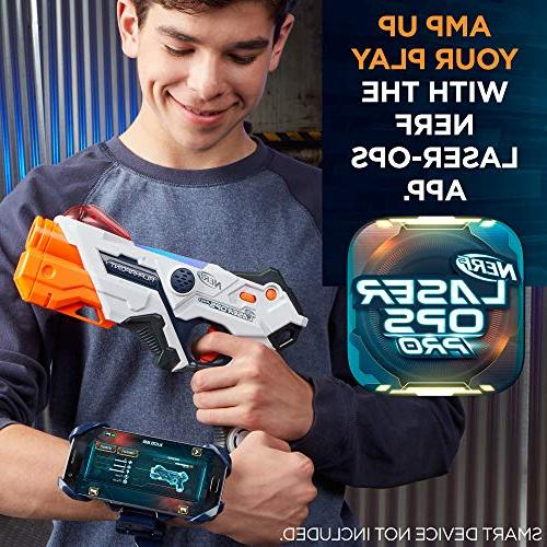 Nerf Ops Pro Toy Blasters - Includes 2 Blasters & Light & - Indicators