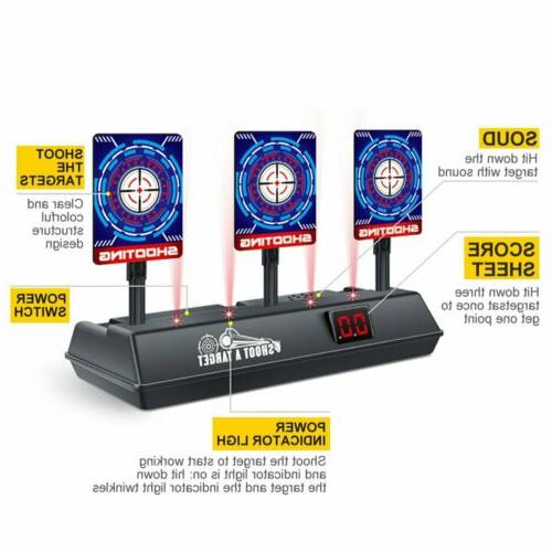 Automatic Reset Electronic for Nerf N-Strike NO Bullet