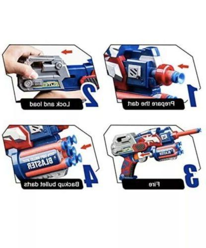 Avengers 2 League Blaster w/ Foam Darts Kids