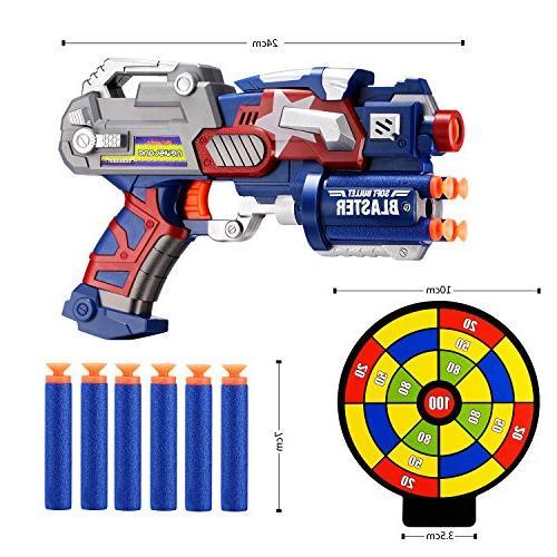 Newisland Gun Darts and Dartboard