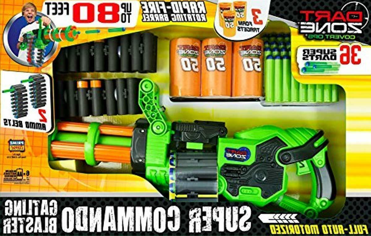 Big Gun Motorized Automatic Blaster Best