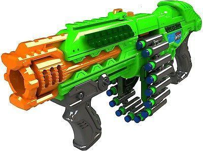 Big Machine Gun Motorized Powerbolt Belt Best For Kids Super Darts