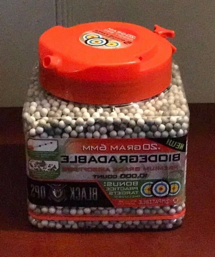 biodegradable premium grade airsoft bb s 20g