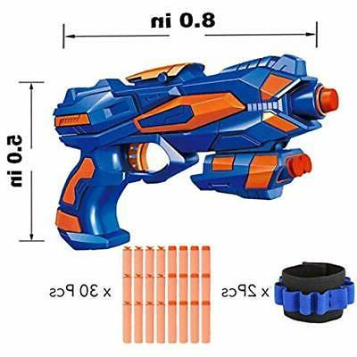 Blasters & Fstop Hand With Guns