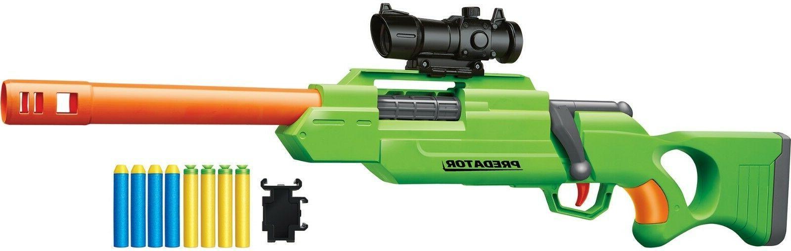 bolt action sniper predator foam dart blaster