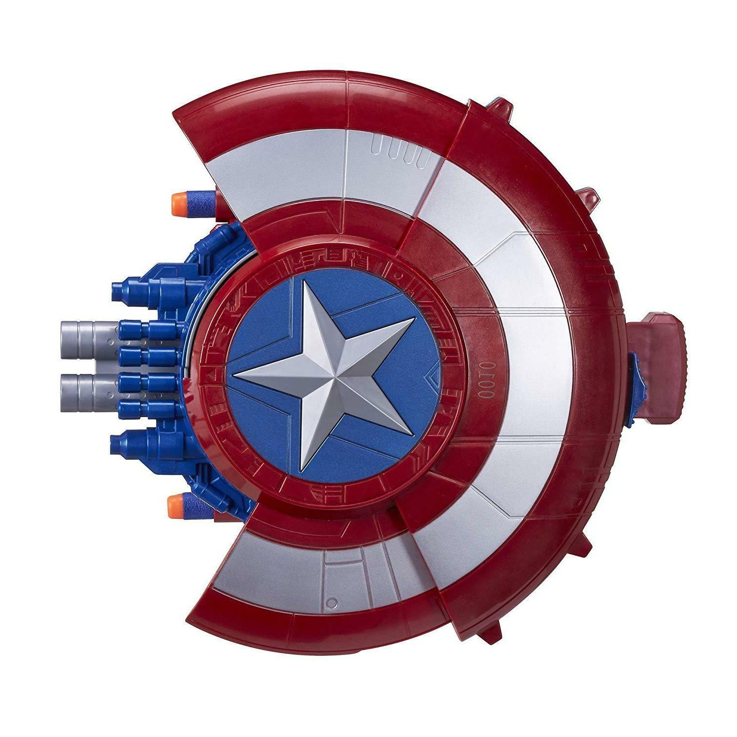 Captain America Nerf Gun Birthday For 4 5 6 7 8 year Girl Boy
