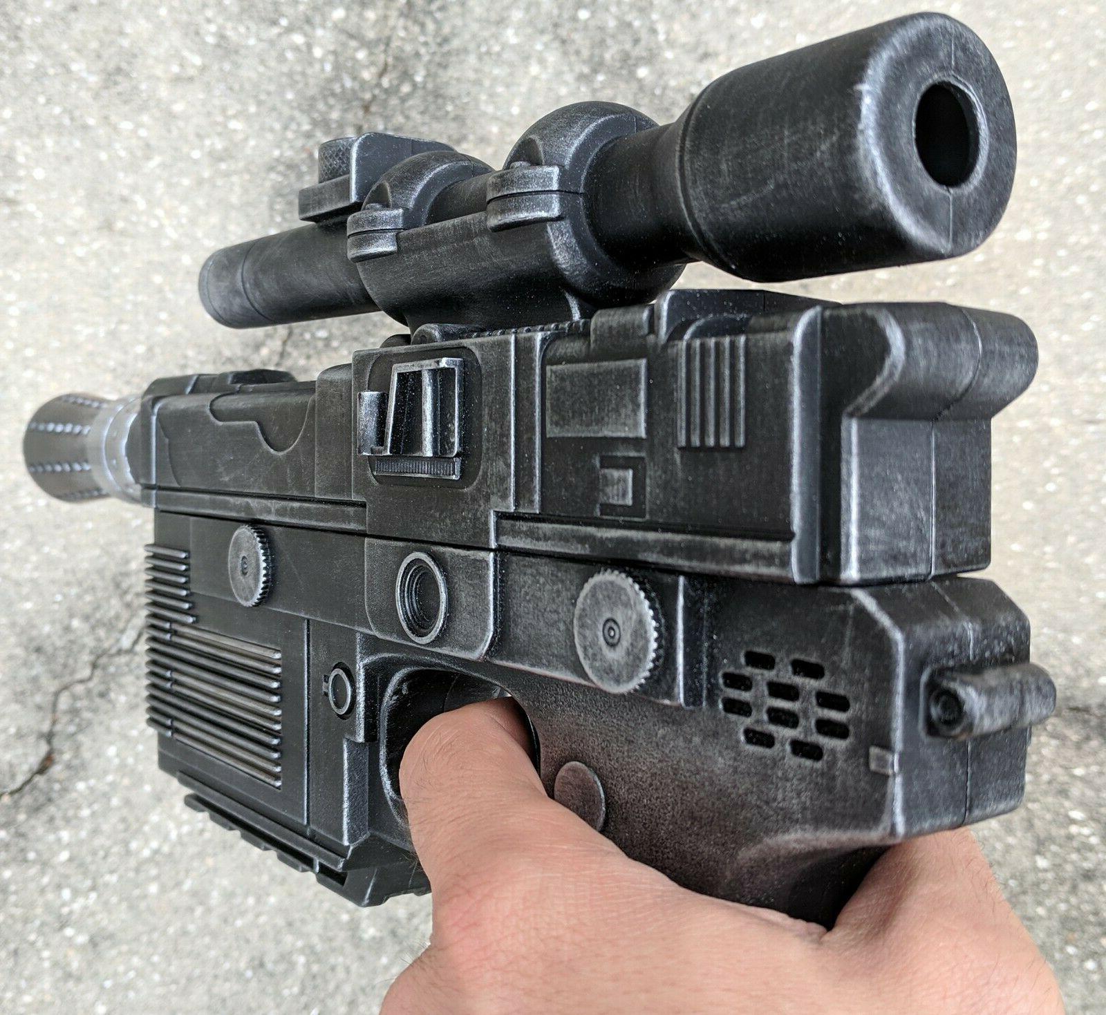 Custom Solo Heavy Pistol Nerf Dart Gun Wars cosplay prop