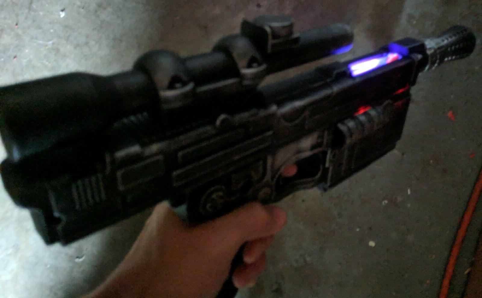 Custom Heavy Blaster Nerf Dart Gun cosplay prop