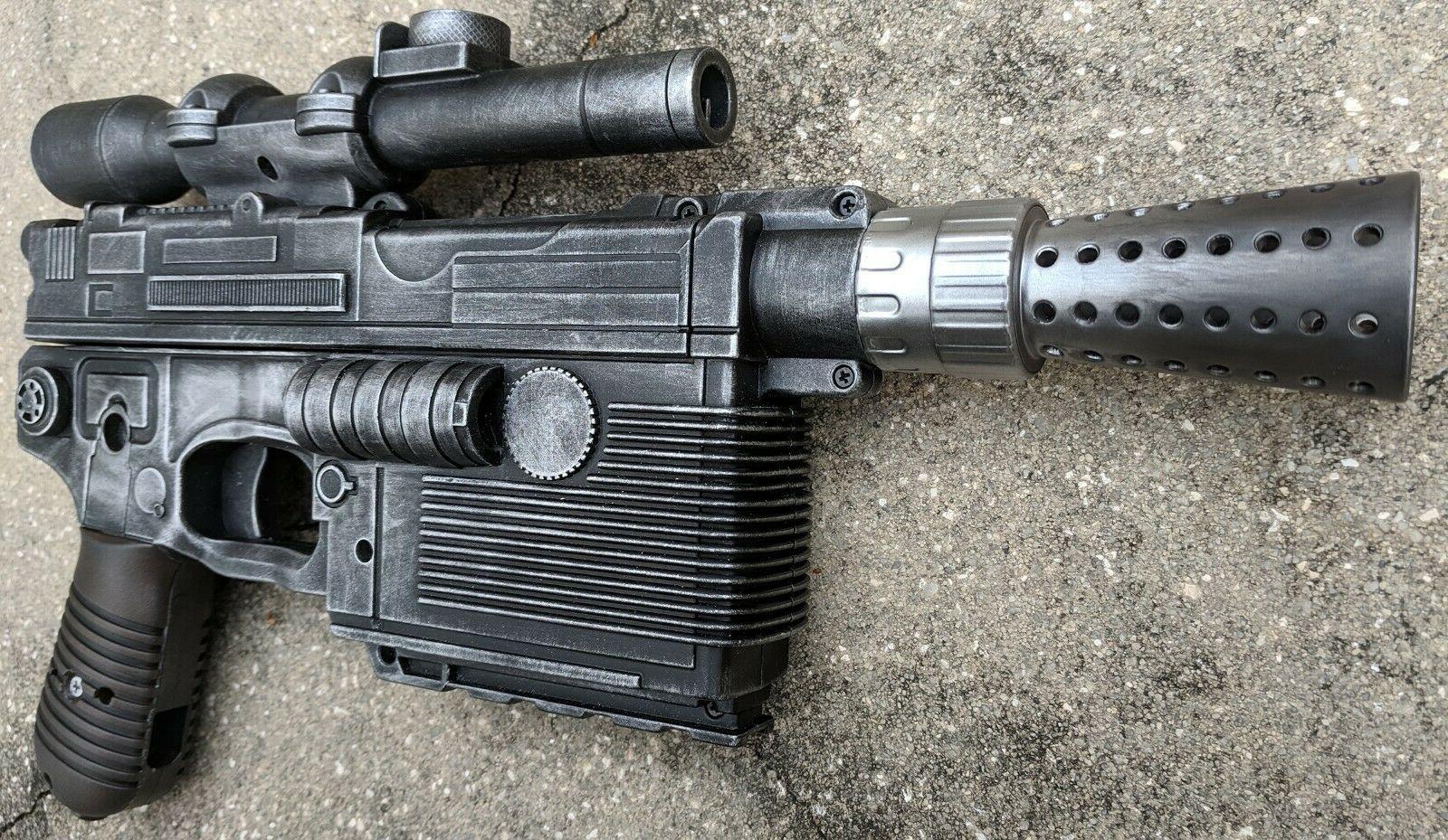 Custom Han Solo Heavy Blaster Pistol cosplay