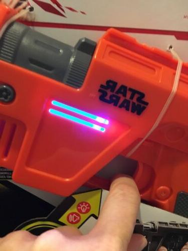 Disney Hasbro Nerf Poe Dameron Blaster & Sounds