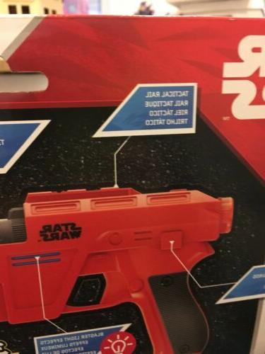 Disney Star Nerf Glowstrike Dameron Blaster