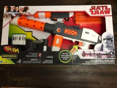 disney star wars deluxe blaster first order