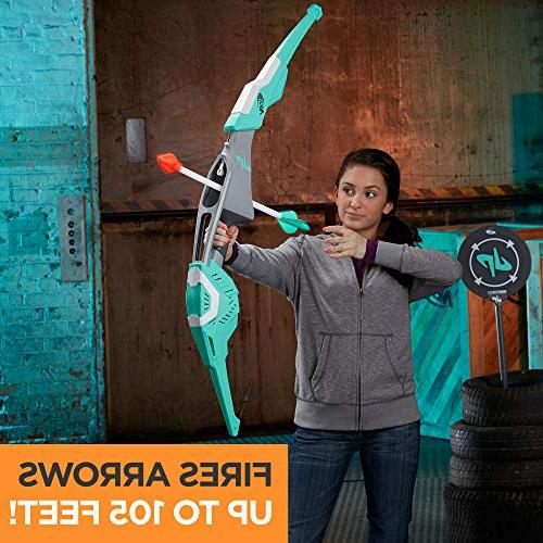 Nerf Bow with 2 Whistling for Kids, Teens, and Adults