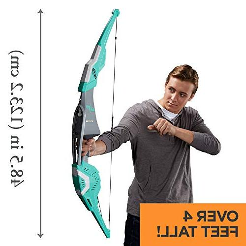 Nerf Bow Biggest Bow with 2 Whistling for Kids, Teens, and Adults