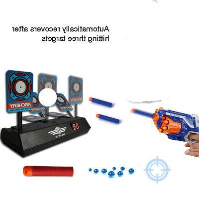electric score bullet target toy fr nerf