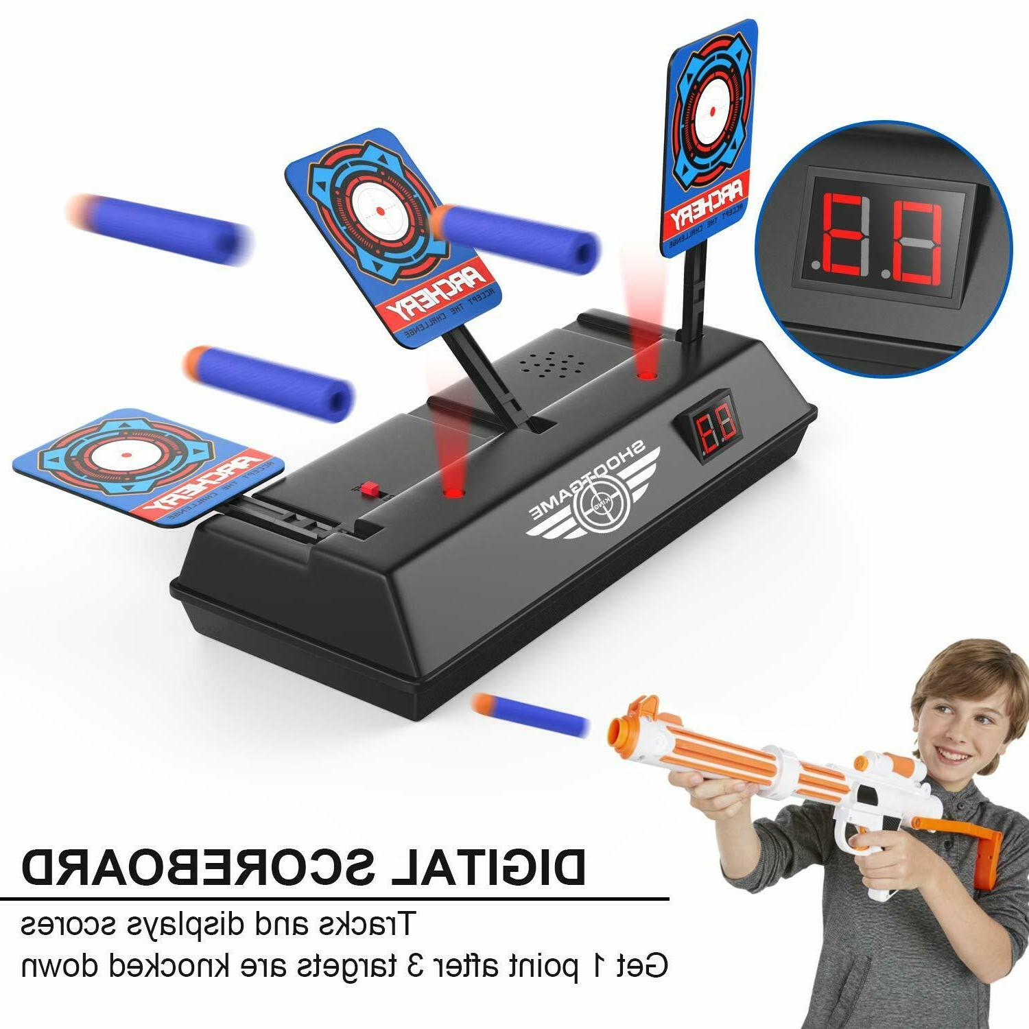 Electronic Target for Auto Effe