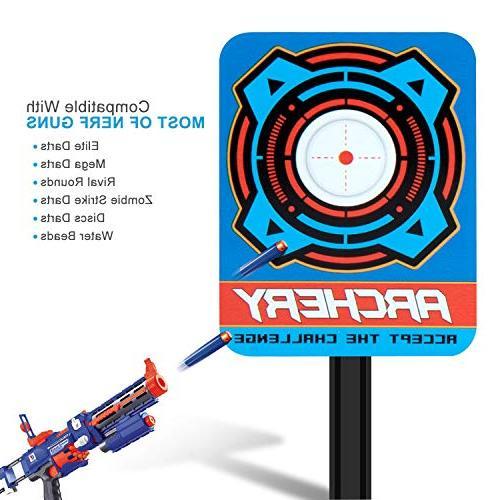 Electronic Scoring Target for N-Strike