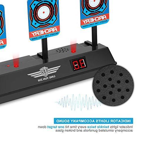 Electronic Nerf Guns, Keten Intelligent Light Effect Scoring N-Strike