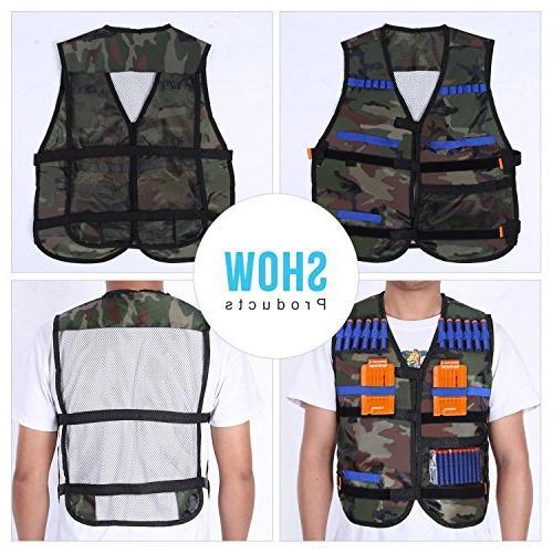 Yosoo Kids Vest Gun N-strike