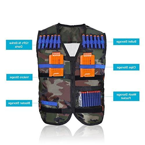 Yosoo Tactical Vest for Nerf Gun