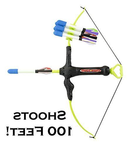 Marky Faux Bow 3 Shoots Over 100 Feet Foam Bow & Arrow Set