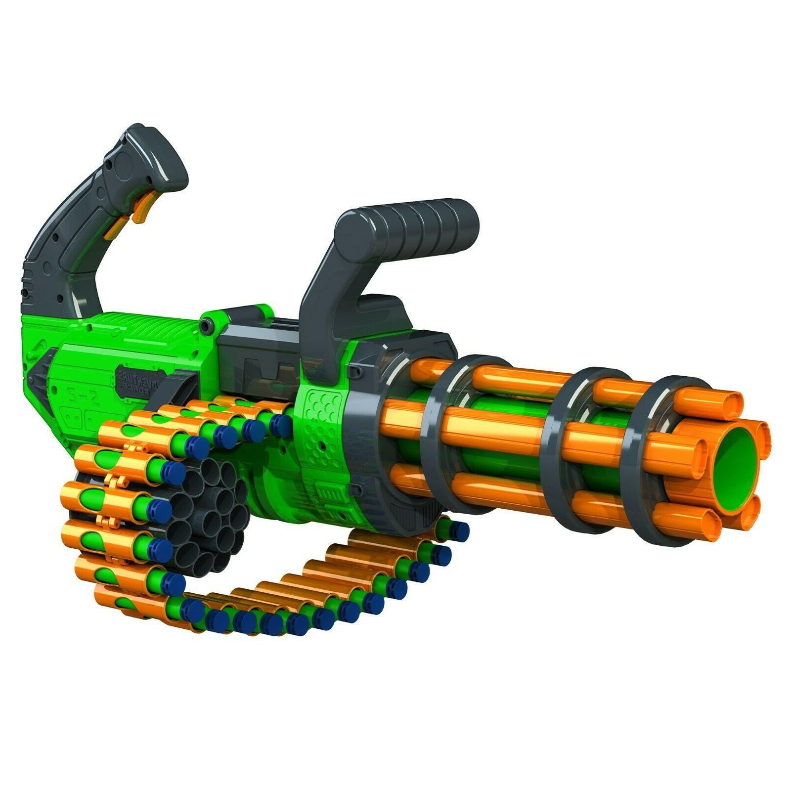 gatling machine gun motorized automatic rapid fire
