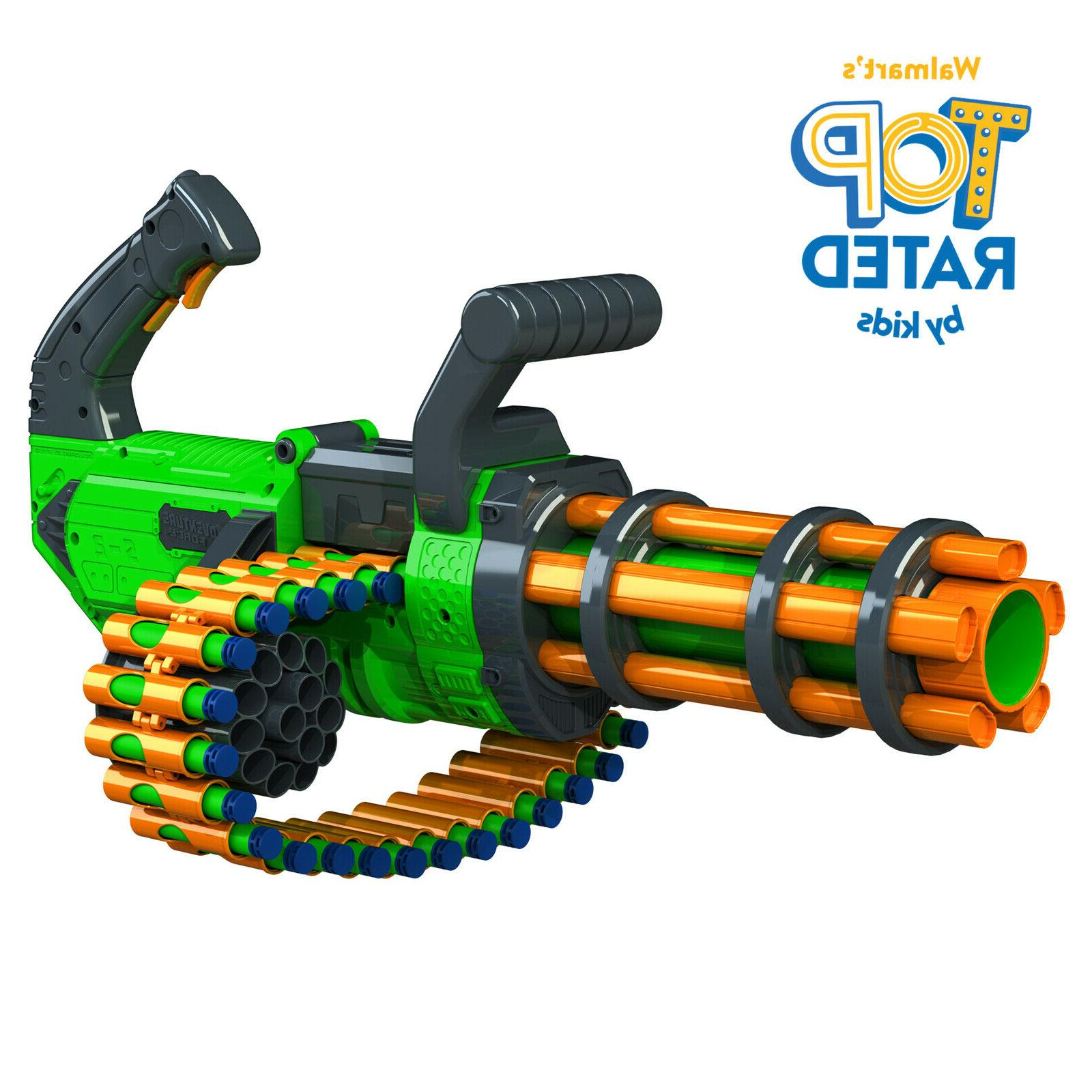 Gatling Gun Motorized Automatic Rapid-Fire Dart Blaster