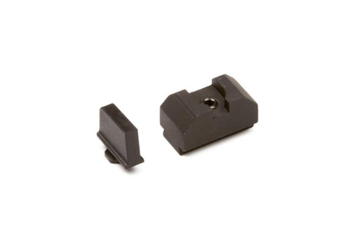 glock sight set 300 black front
