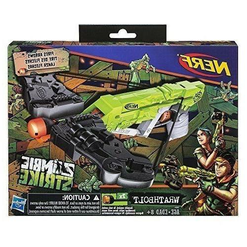 Nerf Gun Zombie Strike Wrathbolt Toy Play