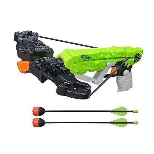 Nerf Gun Crossbow Zombie Strike Wrathbolt Arrow Kids Toy Chi