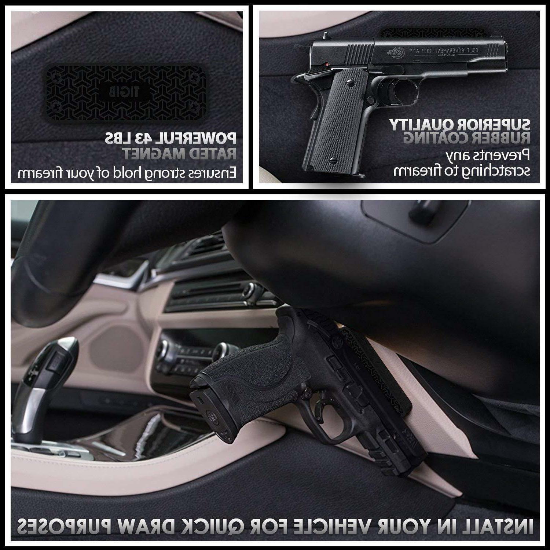 Gun Magnet Mount 43 Holder Car Under
