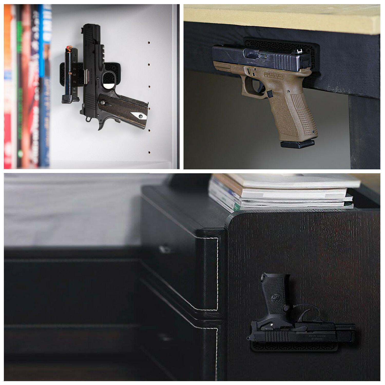 Gun lbs Pistol Holder Car Under Desk