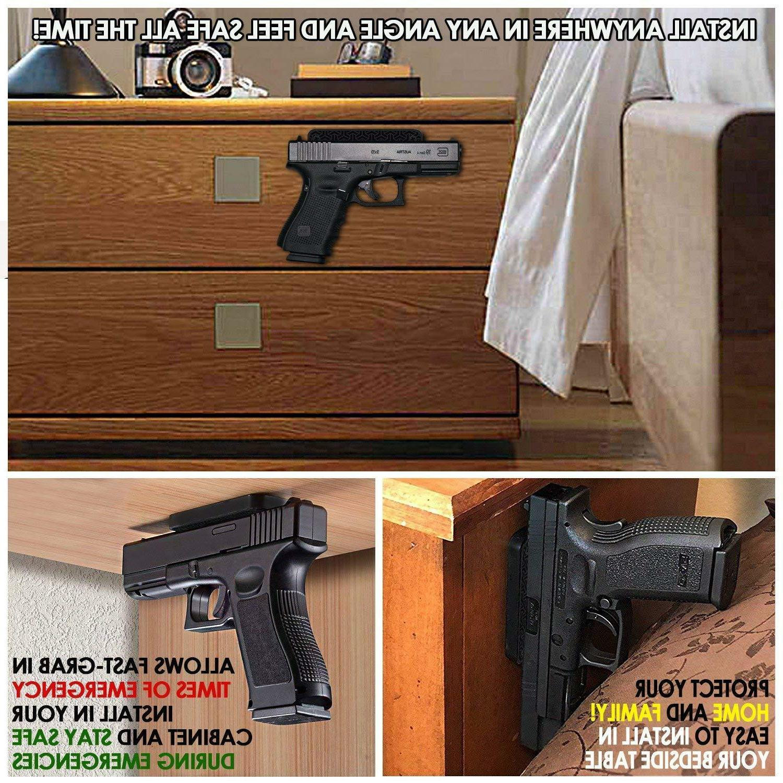 Gun Magnet lbs Rifle Holder Holster Under