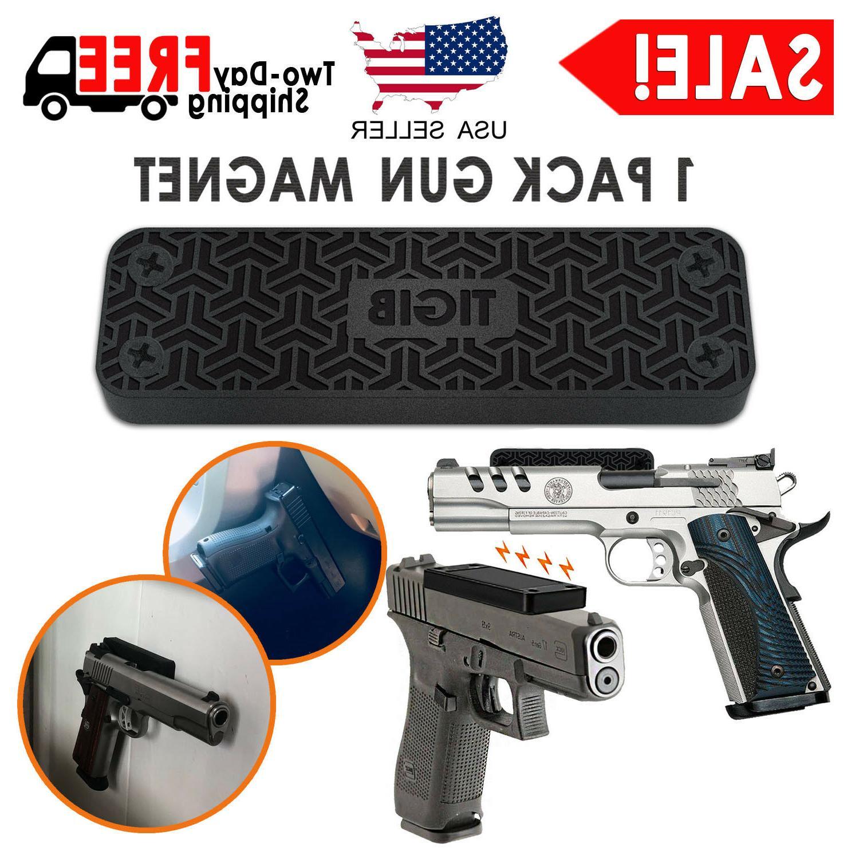 gun magnet mount 43 lbs pistol rifle