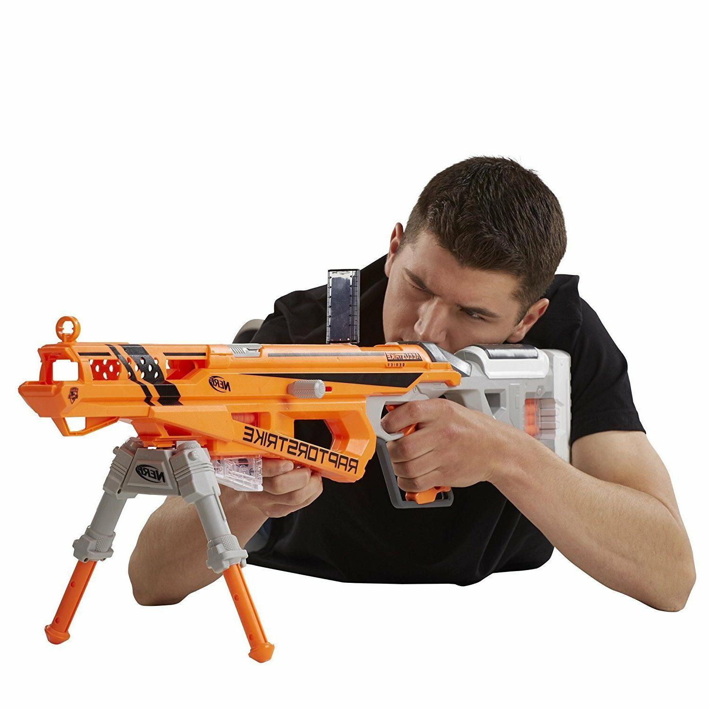 Nerf Gun N-Strike Blaster Rifle Sniper Gun Bolt-action AccuStrike Dart