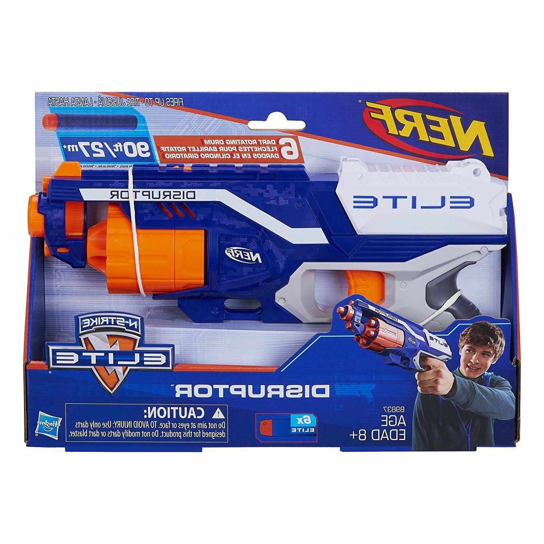 Slam Fire Nerf Gun N-Strike Elite Disruptor Blaster Gun for