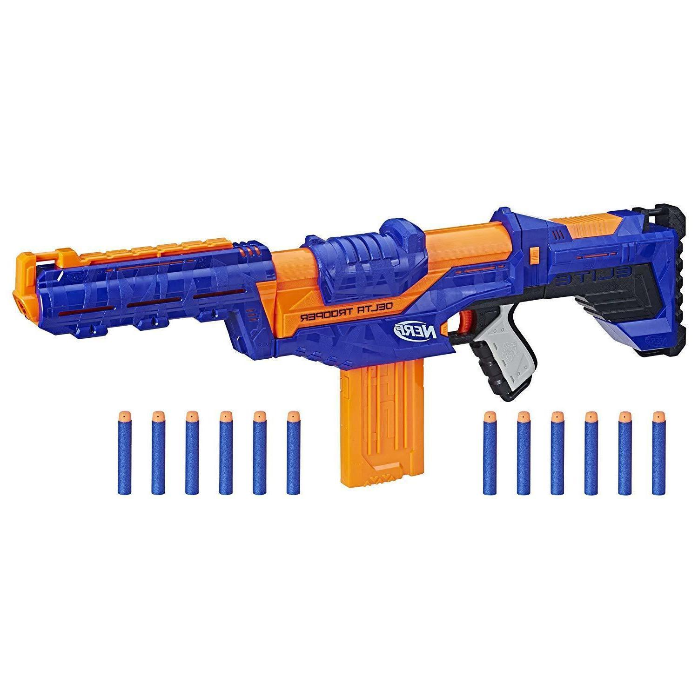 Nerf Gun N-Strike Blaster Delta up 90ft