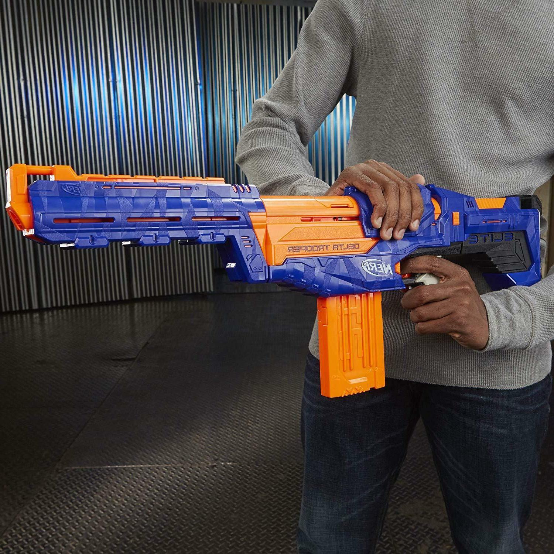 Nerf Gun N-Strike Blaster Dart Guns Delta Trooper - up