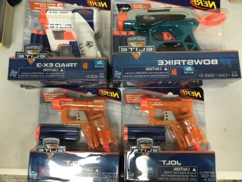 gun n strike elite lot bowstike jolt