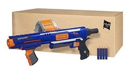 Nerf Gun N-Strike Rampage Blaster Gun Guns