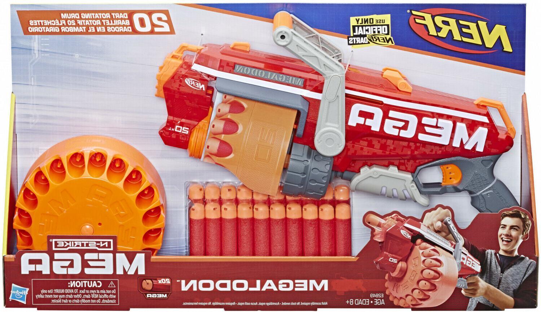 Nerf Gun N Mega Whistling Foam Darts