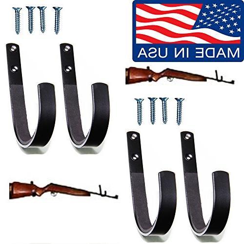 gun rack shotgun hooks rifle