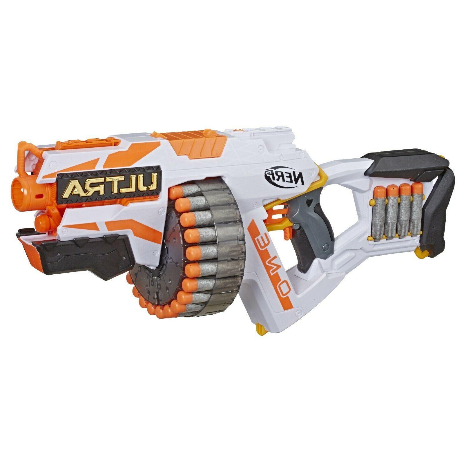 NERF Gun Ultra Motorized Blaster Rapid 120 Foot 25 Foam Darts