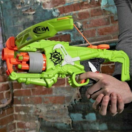 Nerf Gun Outbreaker Bow Blaster Real crossbow