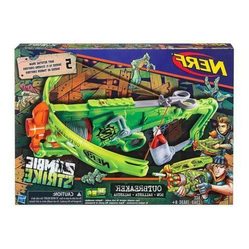 gun zombie strike outbreaker bow blaster gun