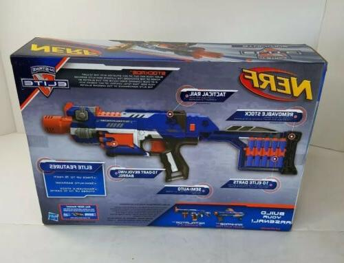 Habro 2011' N-Strike Elite Motorized Dart Gun