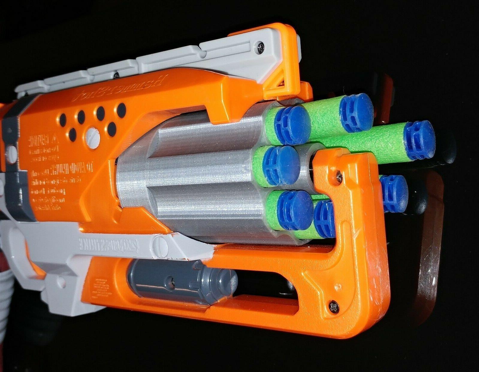 For Hammershot Blaster Cylinder 3D Print Mod Revolver